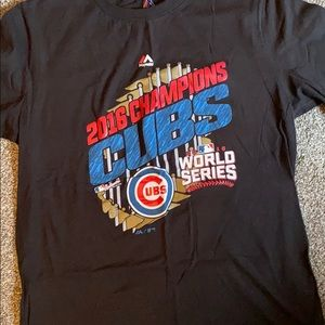 Chicago Cubs worlds series champs T-shirt